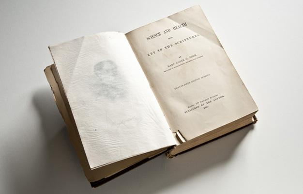 The  copy of Science and Health owned by Susan B. Anthony