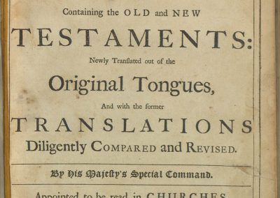Bible 205, Title page