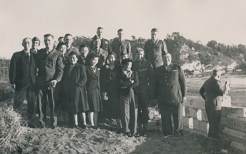 Japanese and American Christian Scientists, Christmas Day 1945