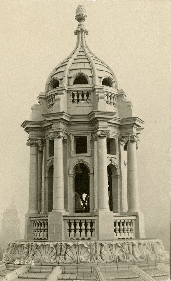 Cupola of the dome of The Mother Church, 1951